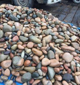 Природный камень морской голыш