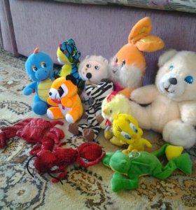 Игрушки, цена за все