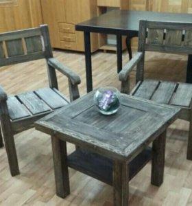Комплект мебели для веранды.