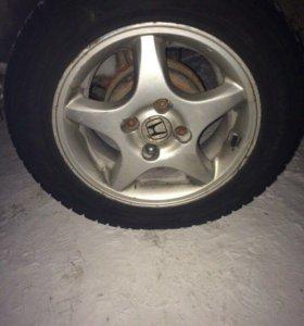 Продам диски Хонда R14 114x4 все ровные