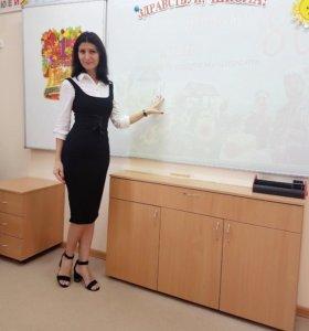 Репетитор по русскому языку, математике с 1 по 7кл