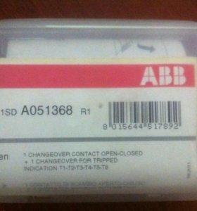 Контакты состояния выключателя AUX T1. T6 1Q 1SY