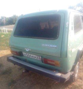 ВАЗ (Lada) 4x4, 1987