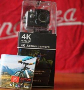 Экшн видеокамера 4К