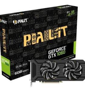 Продам ВидеоКарты Palit Dual 1060 6gb High End