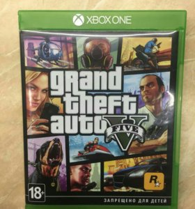 Игра для Microsoft Xbox One GTA 5