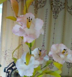 Цветы искуственные интерьерные