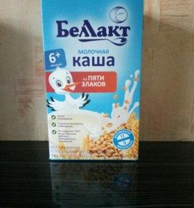 детская молочная каша Белакт,молочная смесь Белакт