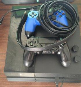 Продам прошитую Playstation 4 FW 5.05
