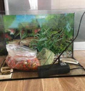 Продам аквариум 20л