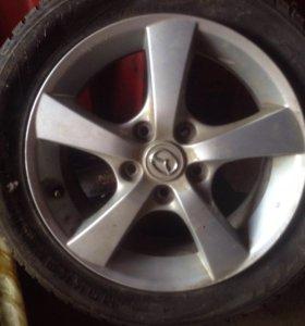 Оригинальный диск от Mazda 3 R16