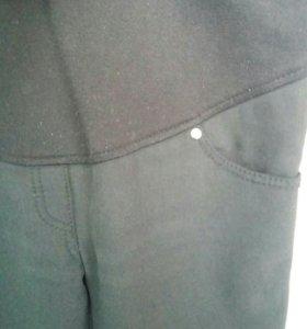 Утепленные джинсы для беременной