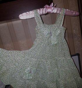 Платье-сарафан 4- 5 лет