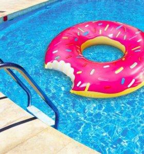 Надувной круг «Пончик» новый