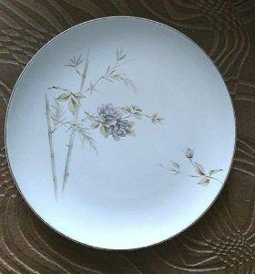 Большая тарелка японский фарфор