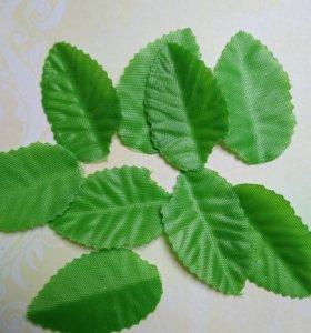 Листочки тканевые 4 см