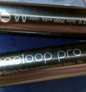Аккумуляторы Eneloop Pro AA