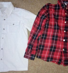 Новые рубашки на мальчика