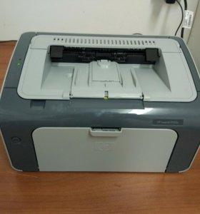 Лазерный принтер ч/б hp laserjet p1102s
