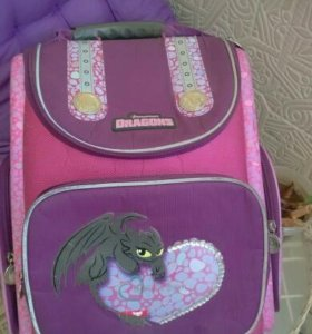Ортопедический школьный рюкзак для девочки Disney