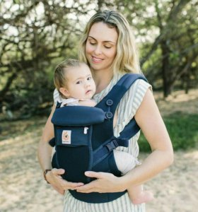 Adapt baby carrier.cool air mesh deep blue