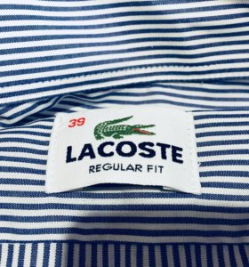 Рубашка Lacoste Regular fit, размер S