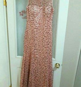 Платье новое 1 раз одетое размер 48-50