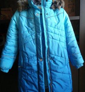 Зимнее пальто для девочки Kerry (Финляндия)