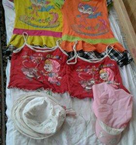 Одежда для девочки 3 - 6 лет