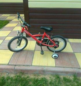 Детский велосипед btwin декатлон