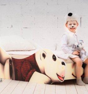 Детская кроватка Мишка Умка