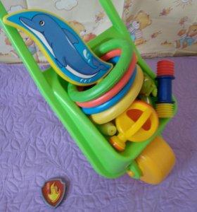 Игрушки для малыша с 9 месяцев пакетом