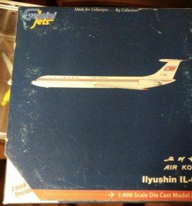 Модель самолета 1:400 ил-62M Air Koryo