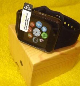 Смарт часы Smart Watch W8 / A1 бронза, новые