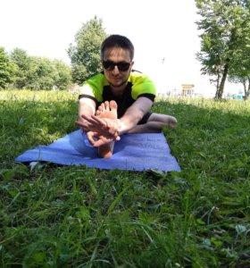 Йога в парке ст Витязь