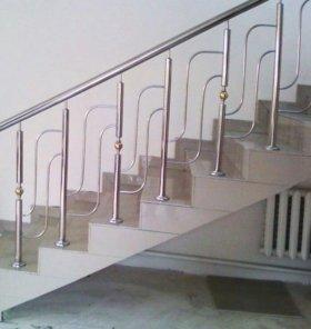 Ограждение лестница