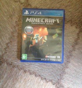 Диск Майнкрафт на PS 4