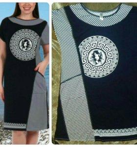 Платье- туника новая размер 54-58