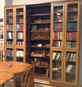 шкаф для книг раздвижной