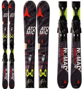 Горные лыжи ATOMIC NOMAD CRIMSON TI