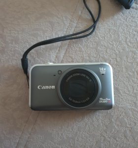 Фотоаппарат Canon PowerShot SX220 HS