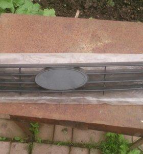 Решетка радиатора на ваз приора