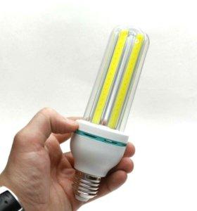 Лампа LED 6000К НЕ мерцает подойдет в софтбокс e27