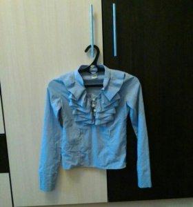 Блузка для девочки 9-11 лет, состояние отличное!