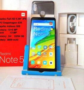 Новые Xiaomi Redmi Note 5. Гарантия