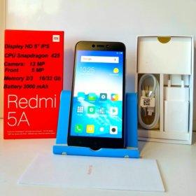 Новые Xiaomi Redmi 5A. Гарантия