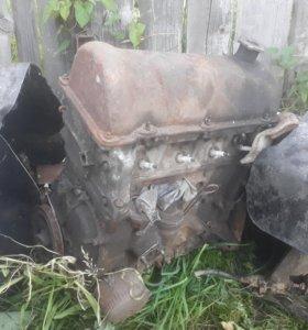 Двигатель без навесного ваз 2104