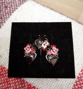 Комплект серебро Sokolov