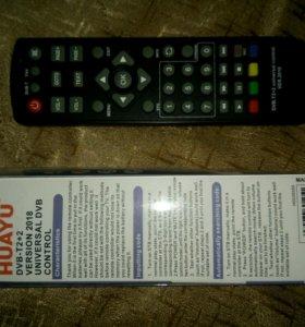 Пульт универсальный для приставок DVB-T2+TV