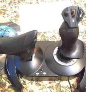 Джойстик для самолёта ThrustMaster TFlight Hotas X